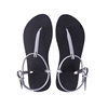Oem Flat Heel Simple New Design Woman Shoe Lady Flat Sandal