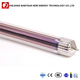 Evacuated tube purple gold three target solar thermal vacuum tube for solar geyser