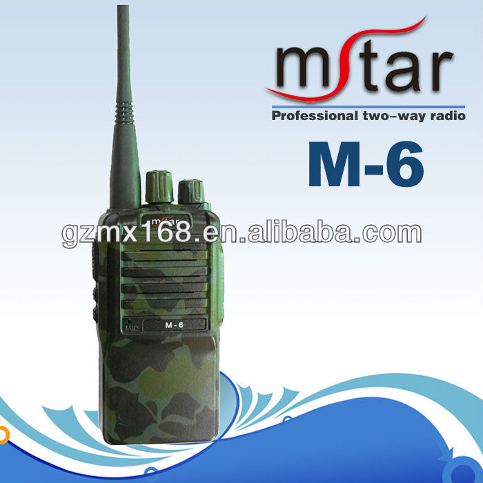 Chinese innovative products new Mstar M-6 long distance wireless walky talky
