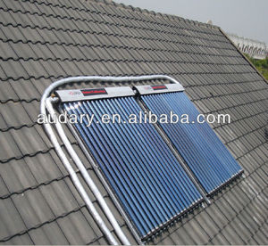 Heat Pipe Vacuum Tubes Solar thermal collector with most reasonable price China manufacturer