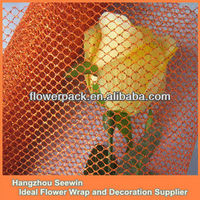 Beautiful glitter decorate mesh for wedding decoration,floral wrapper,gift bag,tablecloth