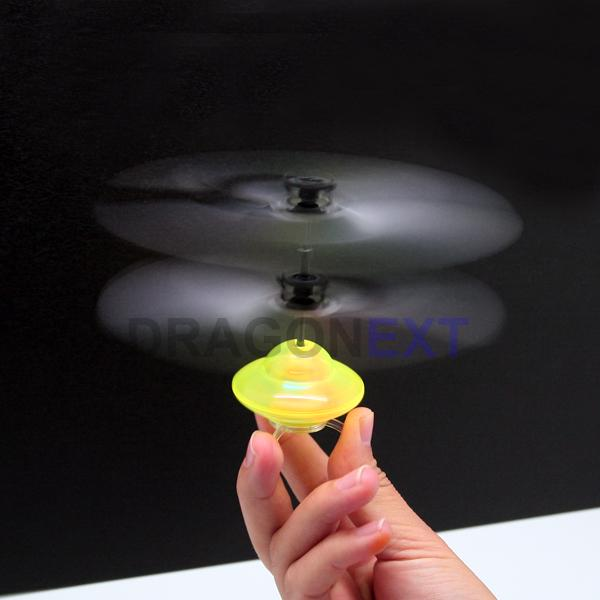 Mini Remote Control Ufo Radio Controlled Flying Saucer Spaceship Toy