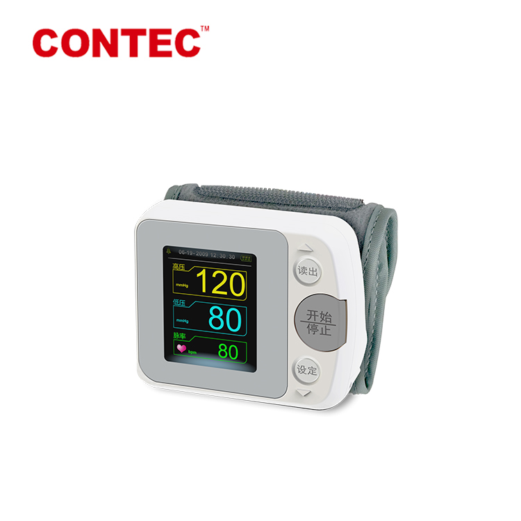 Healthy Care CONTEC09A wrist blood pressure monitor fda approved blue tooth blood pressure monitor cuff
