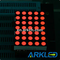 LED Display Dot Matrix 5x8 Dots REACH&RoHS
