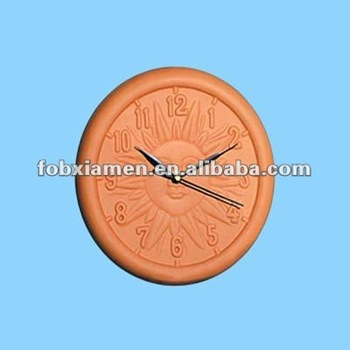 Terracotta Outdoor Clock For Garden Ornaments Buy