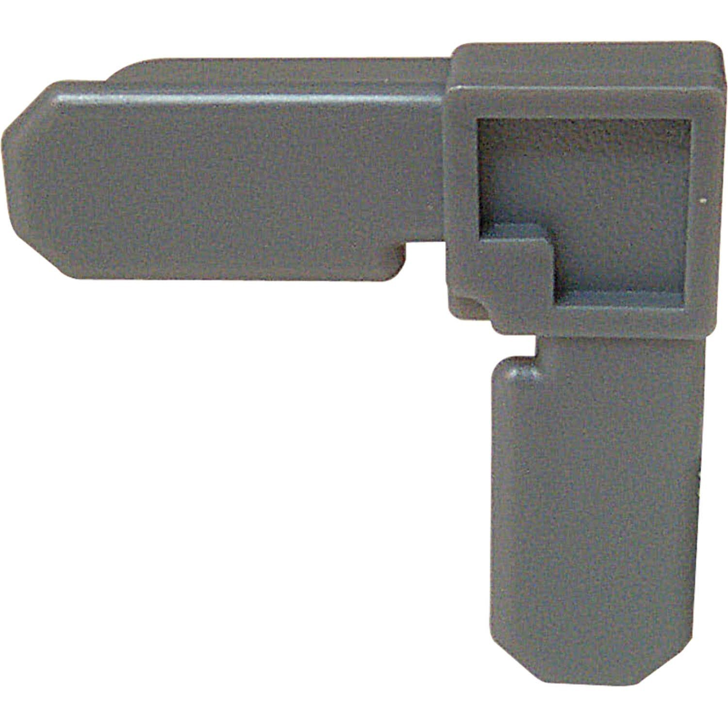 Prime-Line Products PL 7724 Screen Frame Corner, 7/16-Inch by 3/4-Inch, Gray Plastic,(Pack of 4)