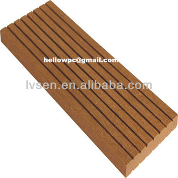 Plastic lumber products board flooring decking profiles for Cheap decking boards b q