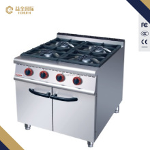 JZHRA4 Gas Range with 4-Burner With Cabinet 700 series
