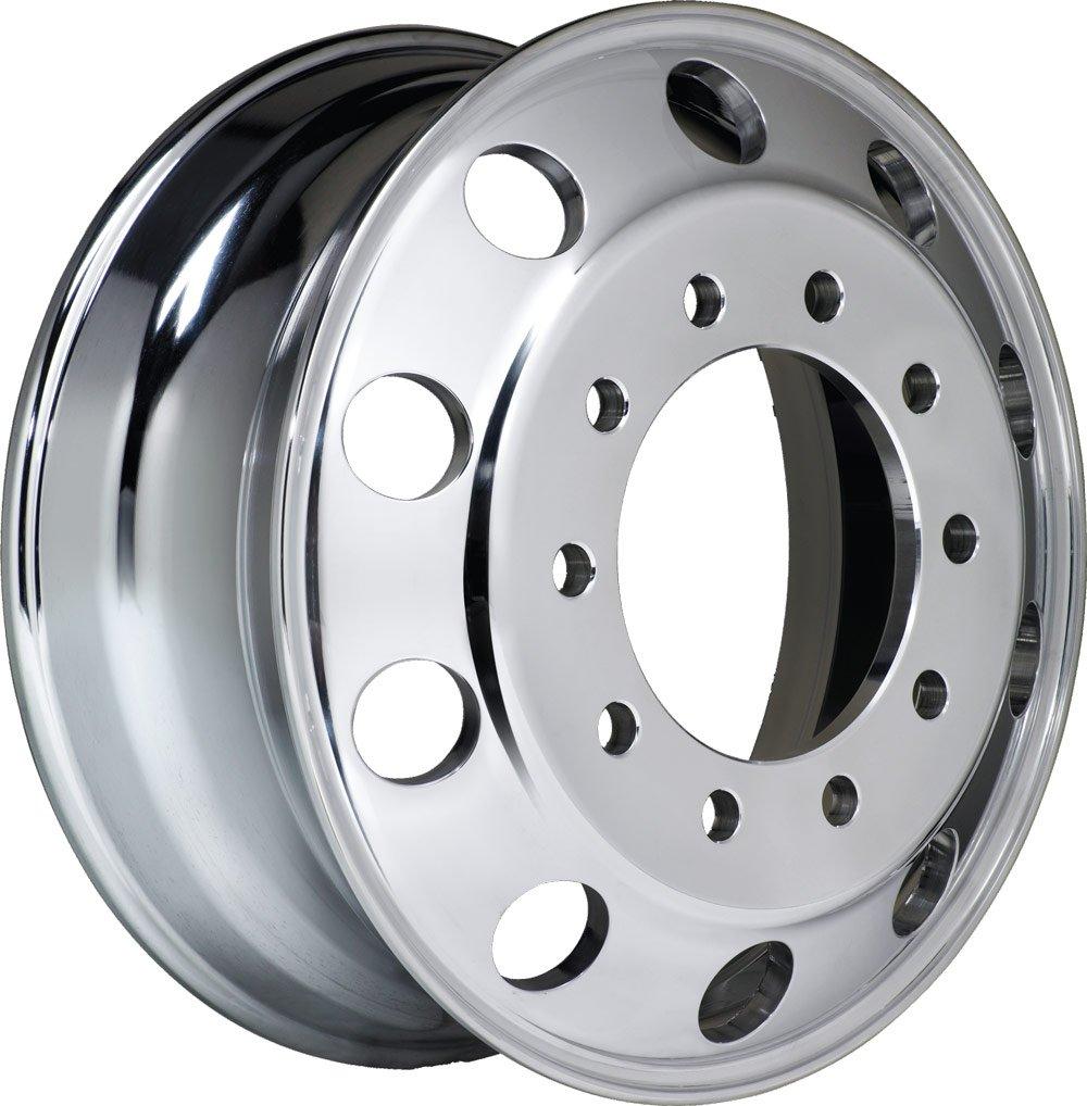 Aluminum Wheels A228203 22.5 x 8.25 10X285.75 Hub PilotALCOA STYLE BBM-BOTHSIDE POLISHED FOR ALL POSITION