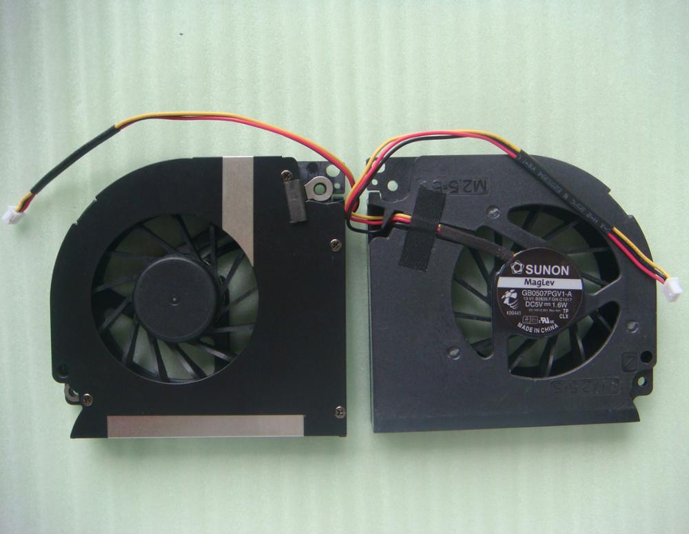 CPU Laptop cooling fan para Dell inspiron 1501 GB0507PGV1-A