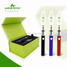 Alibaba china electronic cigarette glass bubbler vaporizer wax vape pen Airis Varana online shopping hong