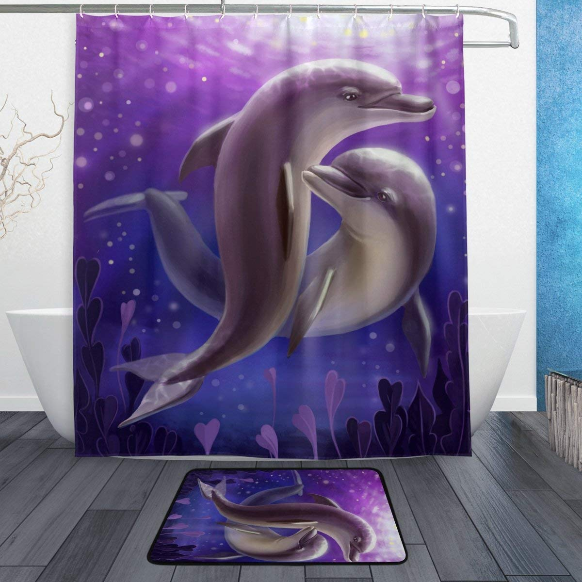 Cheap Underwater Shower Curtain Find Underwater Shower