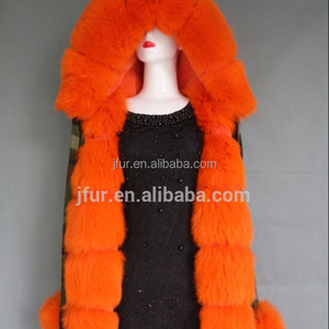 Hot Sale Women Latest orange Fur Lining Military Design Camouflage Coats