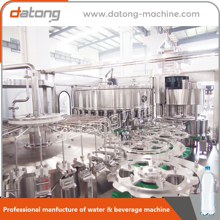 Innovation flavoured water filling machine