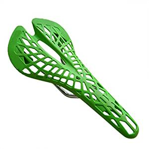Dcolor MTB mountain/ Road bike saddle city bicycle saddle super breathable super light bicycle seat MTB parts(Green)