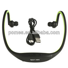 cheap price sports mp3 player, sport mp3 with fm headphones
