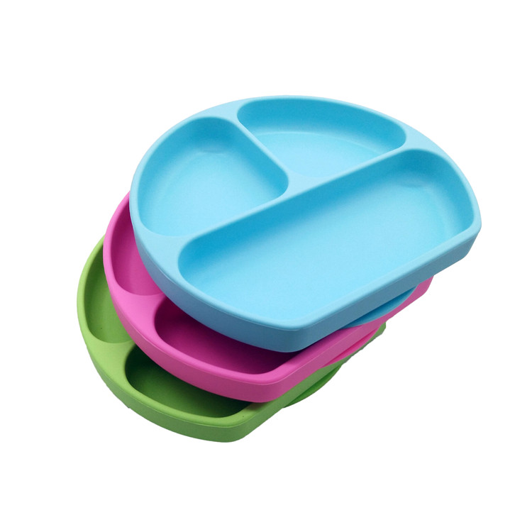 Non-toxic silicone baby placemat plate, silicone suction baby placemat plate, FDA Silicone Baby Placemat фото
