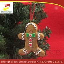 Poly Gingerbread Man Decoration for Christmas Tree