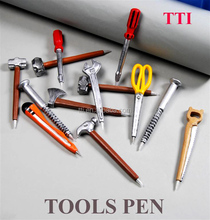 Tool pen with screw driver logo
