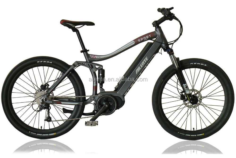 Mountain ebike middle motor with torque sensor