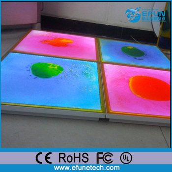 Rechargeable Batteries Nightclub/stage/show Led Liquid Light Up ...