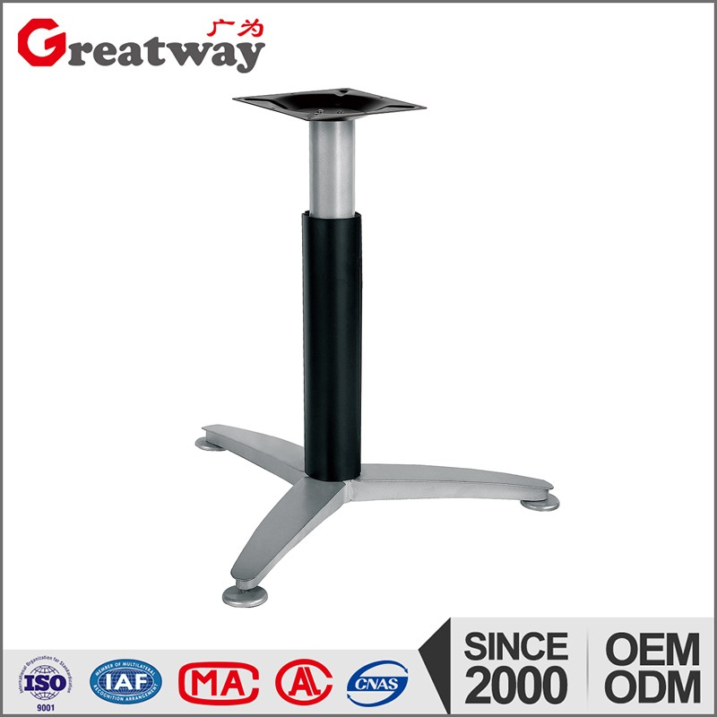 modern office small round metal meeting table base