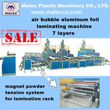 large output air bubble film machine with laminating function for heat insulation and swimming pool 7 layers