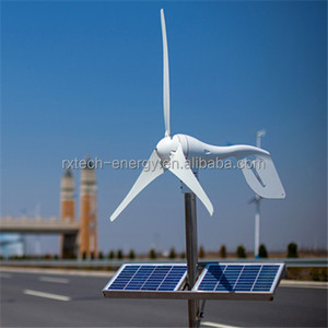 Wind mill generator for hybrid solar wind power generation system. Combine with wind/solar hybrid controller (LED display).
