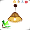 Industrial Pendant Lamp Bamboo Vintage Hanging Ceiling Lamp