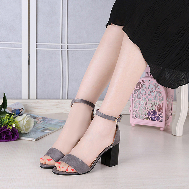 2017 New Lady Sandal,Woman Buckle Sandal,Female shoes