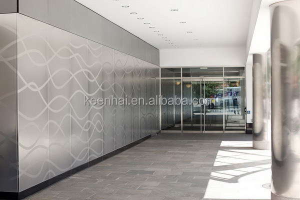 Keenhai OEM Customized Commercial Kitchen Stainless Steel Wall Panels