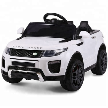 Ride On Range Rover Evoque Land Rover Kids Electric Toy Car Buy