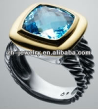 stainless steel interchangeable ring