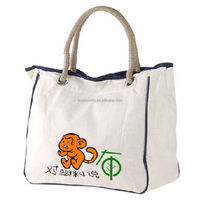 Manufacturer unique design foldable shopping tote cotton bag