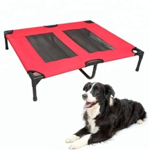 New Arrival Top Quality Cheap Wholesale China Supplier Eco-friendly Luxury Metal Elevated Pet Dog Bed For Puppy