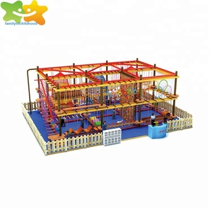 Ropes Courses Kids Obstacle Course Playground
