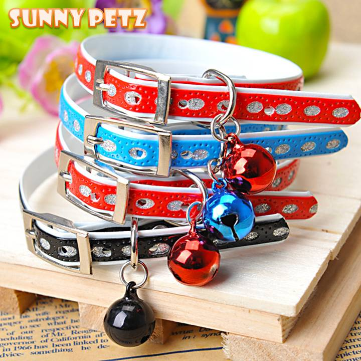 Pet Comfortable Large Ring Bell Fashionable Dog Collar