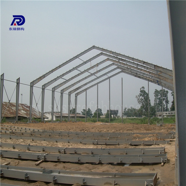 Industry light steel structure steel frame prefabricated house plans workshop