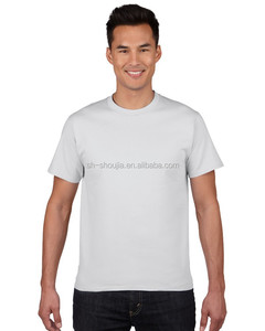wholesale good quality pure cotton bulk plain t shirt in stock
