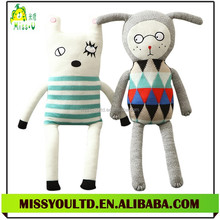 Wholesale Custom Knitting Funny Baby Toy For Gift