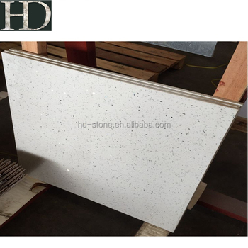 Artificial Quartz Stone Crystal White Color Quartz Floor Tiles