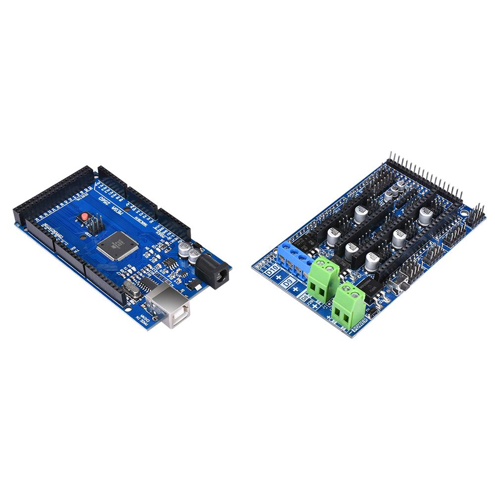 Control board kit Ramps 1 6 pcb board+Mega 2560 R3 Reprap Mendel+12864 LCD  Display +A4988/TMC2130 Stepper motor driver, View pcb board, BIQU Product