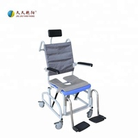 JY-XZC-01 healthcare products mobile commode chair with bedpan