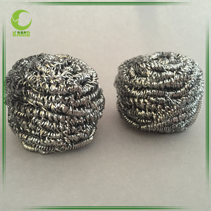 High Quality Stainless Steel Scourer Cleaning Ball Scouring Pads Cleaning Ball