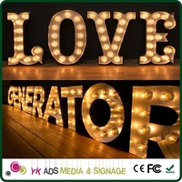 led backlit sign bulbs letters advertising front light acrylic 3d led channel letterlighted restroom signs