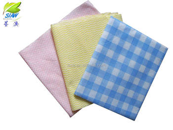70%viscose 30%polyester Non-woven Fabric Cleaning chamois