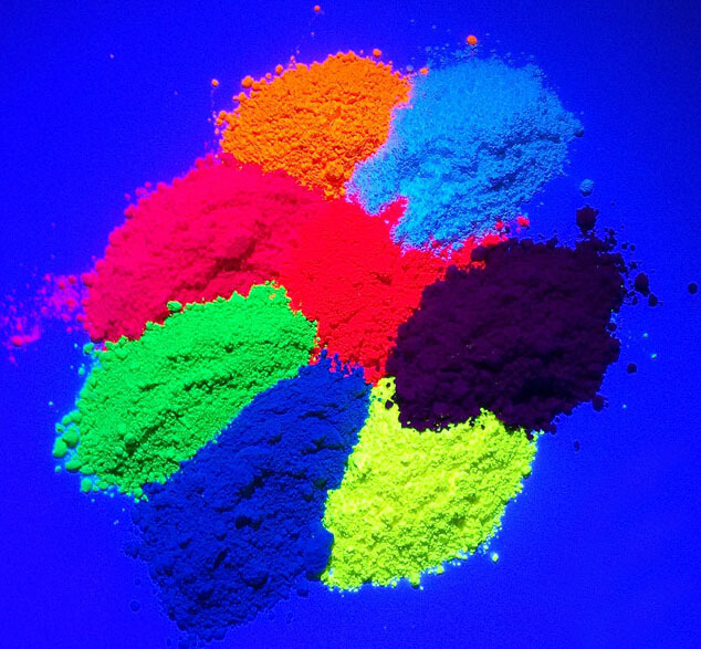 500g lot NEON Peach Color Shiny Fluorescent Phosphor Powder Decoration Pigment Material for Nail Polish Painting