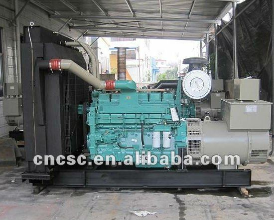 625kva/500kw with cummins engine engine Stamford Diesel generator