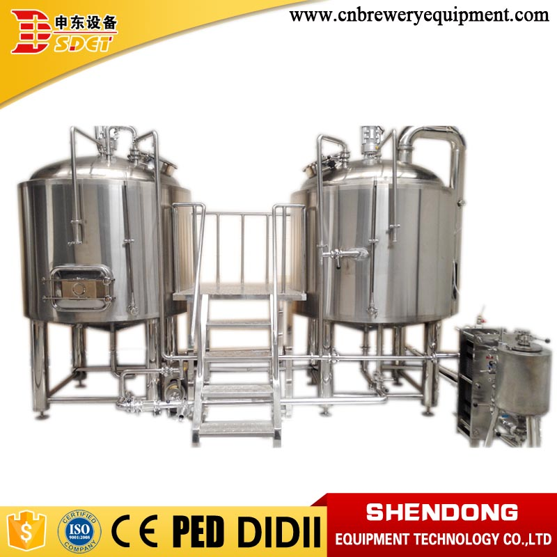 CE/PED/ISO certificated craft beer brewery stainless steel tank