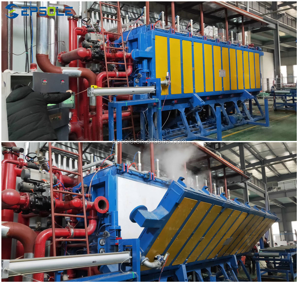 Plastic Machine EPS Block Moulding Machine